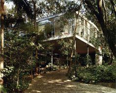 Lina Bo Bardi - Casa de Vidrio (glass house), Sao Paulo 1951....