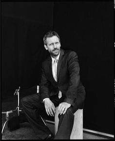 Hugh Laurie. I don't know what it is..but I absolutely love him.