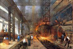 La revolución industrial y el movimiento obrero