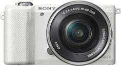 "Sony ILCE-5000L - Cámara EVIL de 20.1 Mp (pantalla articulada 3"", estabilizador, vídeo Full HD, WiFi), color blanco - kit con objetivo 16-50mm f/3.5 OSS B00HNT5NG2 - http://www.comprartabletas.es/sony-ilce-5000l-camara-evil-de-20-1-mp-pantalla-articulada-3-estabilizador-video-full-hd-wifi-color-blanco-kit-con-objetivo-16-50mm-f3-5-oss-b00hnt5ng2.html"