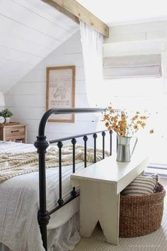 If you like farmhouse bedroom, you will not ever be sorry. If you decide on farmhouse bedroom, you won't ever be sorry. If you go for farmhouse bedroom, you're never likely to be sorry. When you're searching for farmhouse bedroom… Continue Reading → Fall Bedroom, Home Decor Bedroom, Bedroom Ideas, Bedroom Furniture, Bedroom Designs, Bedroom Apartment, Bedroom Benches, Sectional Furniture, Bed Bench