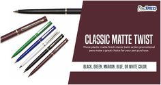 Business Pens, Promotional Pens, Handbags Michael Kors, It Is Finished, Ink, How To Make, Michael Kors Purses, India Ink