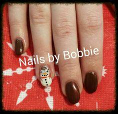 Christmas nails! #head2toesalon #nailsbybobbie