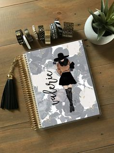 Planner Cover  Fashion Girl Planner Cover: Erin by StylishPlanner