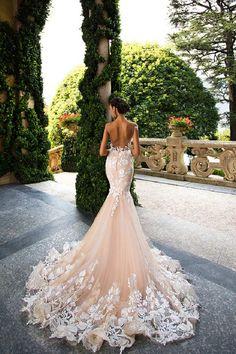 Wedding Ideas By Colour: Blush Wedding Dresses | CHWV