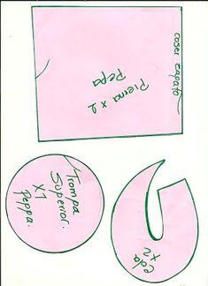 Peppa Pig de Peluche - Aprendamos Juntos Peppa Pig, Sewing, Diy, Patterns, Videos, Teacup Pigs, Paper Craft Work, Craft Ideas, Crafts