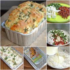 Caprese_Savory_Bread Collage
