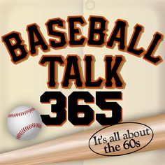 You can now listen to the podcast on the web site at www.baseballtalk 365.com or on ITunes at baseballtalk365 with Thom Bolden, or on Stitcher On Demand Radio.