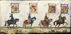 Artist: various, Title: »Triumphzug Kaiser Maximilians« Page 68, Date: 1526
