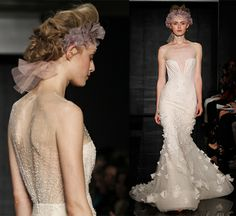 A stunning alternative to a veil #weddinghair #bridalaccessories #bridalhair