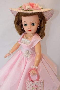 "DREAM DOLL! Ideal's Miss REVLON vt-20 Vintage 50's 20"" Fashion Doll Cissy pal"