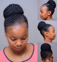 95 Wonderful Cornrow Updos Hairstyles In 47 Of the Most Inspired Cornrow Hairstyles for Cornrow Braids Hairstyles Updo Tutorials Videos, Number E Cornrow Updo Hairstyles for Black Women S, 50 Cool Cornrow Braid Hairstyles to Get In Braided Hairstyles Updo, Braided Hairstyles For Black Women, African Braids Hairstyles, My Hairstyle, Girl Hairstyles, Summer Hairstyles, Cornrows Updo, Simple Hairstyles, Hairstyles 2018