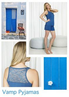Light up your summer days and nights with the season's must-have electric colors and fabrics! http://www.vampfashion.com/collections-mo-en/nightwear-mo-en.html #vampfashion #nightwear
