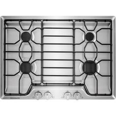 frigidaire 30 in gas cooktop in stainless steel with 4