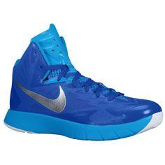 sale retailer 16f9f 48bdf Nike Lunar Hyperquickness Royal Blue Silver Mens Size 11 Basketball Shoes  Shoes Sneakers, Nike