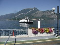 The Ferry coming in from Belagio