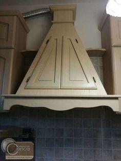 Cucina Moderna con Ante a Gola | Cucine in vero legno su misura ...
