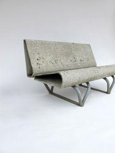 Designer :André Lasserre Manufacture :Eternit Description :Original circa 1960 André Lasserre bench.