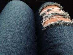 Random picture of jeans