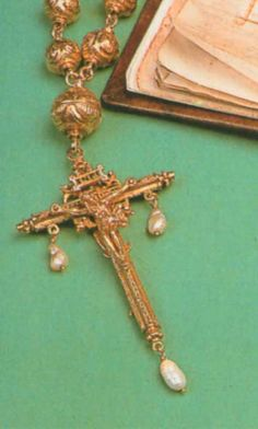 This is the rosary thought to have been carried by Mary Queen of Scots to her execution