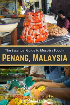 A visit to Penang is a visit to Malaysian food heaven. When Malaysians argue about their favorite food city or town, Penang is always high up on the list, if not first most of the time. Here is your essential guide to must-try food in Penang, Malyasia! Malaysia Travel Guide, Asian Street Food, Unique Restaurants, Malaysian Food, Restaurant Guide, Asia Travel, Wanderlust Travel, Exotic Food, Recipes From Heaven