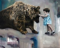 """Saatchi Art Artist Adrienne Egger; Painting, """"Reconciable Differences"""" #art"""