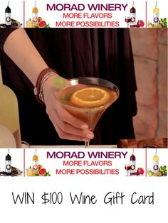 Morad Winery Fruit Wines and Liqueurs *Giveaway* |