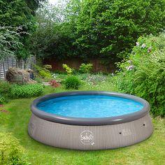 Wem Klassisch Blaue Quick Up Schwimmbecken Zu Langweilig Sind, Findet  Diesen Pool Mit