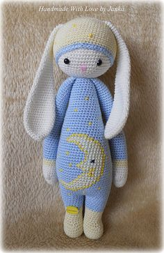 Ravelry: Project Gallery for RITA the rabbit - bunny mod kit for lalylala dolls pattern by Lydia Tresselt