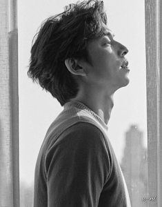 BAZAAR 2018 ❤❤ 공유 Gong Yoo ♡♡ Life was its usual and then there's Yoo.