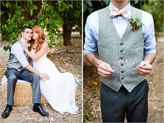 James & The Giant Peach Wedding: rustic wedding ideas