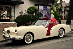 1954 Kaiser Darrin Convertible - I had the chance of a lifetime to buy one of these in the early 1970's but I was short on cash.