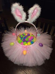 Tutu Easter Baskets Customized I Make Other
