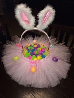 My Tutu Easter Basket