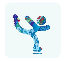A Colorful Patchwork: The Sochi 2014 Winter Games Pictograms . all of the colorful pictograms Winter Olympic Games, Winter Games, Winter Olympics, Olympic Idea, Olympic Sports, Winter Art, Summer Winter, Ice Skating, Figure Skating