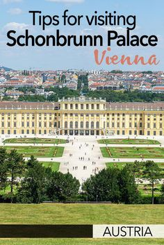 Everything you need to know about visiting Schonbrunn Palace in Vienna, Austria. Including tips on buying Schonbrunn Palace tickets, and a bit of history about Schonbrunn Palace and the Habsburgs. This is one of the best things to see in Vienna, Austria. Europe Destinations, Europe Travel Guide, Italy Travel, Travel Guides, Europe Packing, Visit Austria, Austria Travel, Vienna Austria, European Vacation