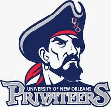 New Orleans Privateers Primary Logo on Chris Creamer's Sports Logos Page - SportsLogos. A virtual museum of sports logos, uniforms and historical items. University Of New Orleans, University Logo, Mascot Design, Logo Design, New Orleans History, Word Mark Logo, Logo Shapes, Sports Team Logos, Art Logo