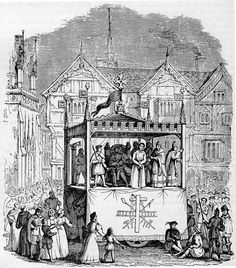 Nineteenth-century engraving of a performance from the Chester mystery play cycle refers to the theatre of Europe between the fall of the Western Roman Empire in the century A. and the beginning of the Renaissance in approximately the century A. Medieval Theatre, World Theatre, Globe Theatre, Theatre Stage, Mystery Plays, English Drama, Theater, Theatre Posters, Victorian Illustration