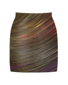Vividly - Rainbows Skirt, $54.00 (http://vividly.co/rainbows-skirt/)