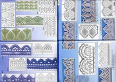 How to Crochet Borders and Edging - http://www.8trends.com/how-to-crochet-borders-and-edging/