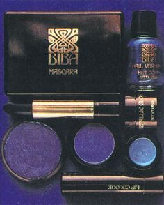 BIBA cosmetics....had nearly all of the range!!