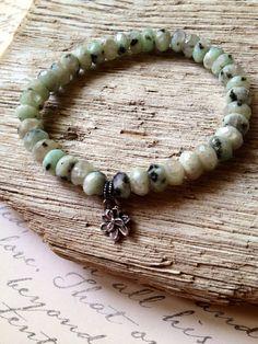 Boho Chic Bracelet Gemstone Bracelet by ThePurpleSquirrels on Etsy, $30.00