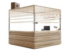 Mobile Property Office Studio Cubes by Atelier 37.2