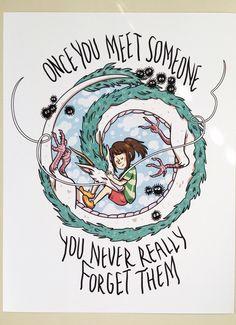 Studio Ghibli Print - Spirited Away by StrangeTeeth on Etsy https://www.etsy.com/listing/251108085/studio-ghibli-print-spirited-away
