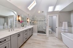 Sarah & Ray's Master Bathroom Remodel Pictures – Eadaion Alinga Bathroom Remodel Pictures, Diy Bathroom Remodel, Bathroom Renovations, Home Remodeling, Cheap Renovations, Decorating Bathrooms, Small Bathroom, Master Bathroom, Bathroom Ideas