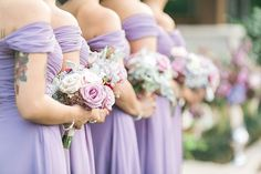 Bridesmaids. Maggie Bride Aaryn wore Angelette by Sottero and Midgley at her Rustic and Glamorous Houston Wedding   Julie Paisley Photography