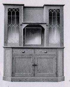 Fenner Kit House: Built-in buffet.