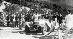 Tromp van Diggelen in his new SS Jaguar 100...during the Annual Hill Climb at Camps Bay 1936 | Flickr - Photo Sharing!
