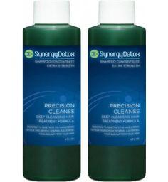 Precision Cleanse Hair Detoxification Shampoo - Double Bottle