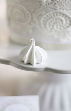 My meringues aren't as defined as this; maybe I need to beat the egg whites longer?